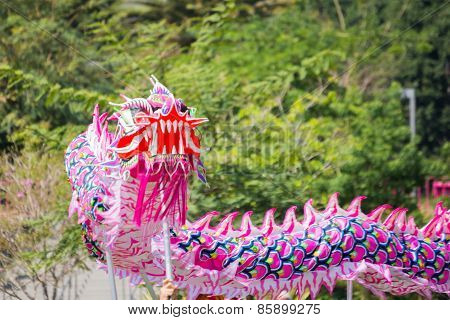 Chinese Dragon At The Norooz Festival And Persian Parade