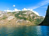 pic of fjord  - Tourism vacation and travel - JPG