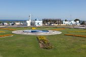 picture of emirates  - Roundabout with fountain in Kalba Emirate of Fujairah United Arab Emirates - JPG