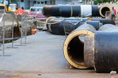 image of underground water  - underground water pipeline replacement  - JPG