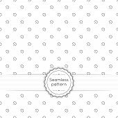 pic of diagonal lines  - Vector seamless pattern with vintage old banner and ribbon - JPG