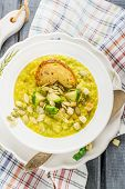 pic of brussels sprouts  - Thick vegetable soup puree with Brussels sprouts - JPG
