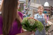 image of flower shop  - Welcome back whenever needed - JPG