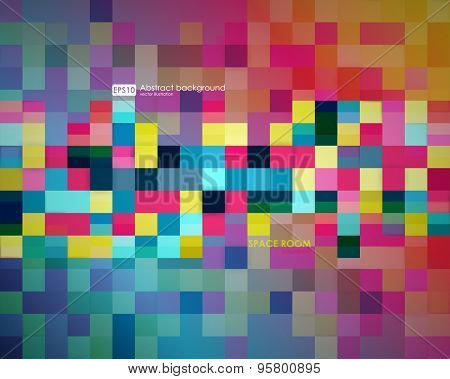 Business abstract background. Vector illustration. Poster, flyer, brochure design templates. Abstract modern geometric, square backgrounds.