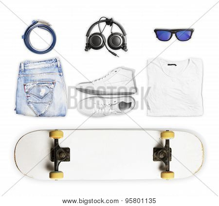 Skateboard And Wear And Accessories