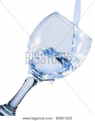 Clean Water Into A Glass