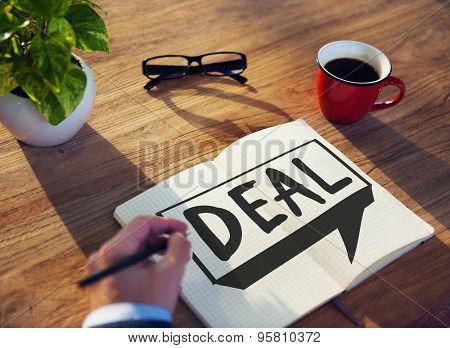 Deal Achievement Cooperation Solution Collaboration Concept
