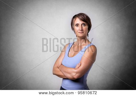 Middle Aged Hansome Woman