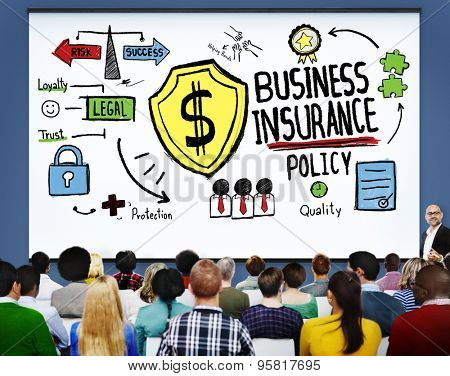 Business Insurance Policy Guard Safety Security Concept