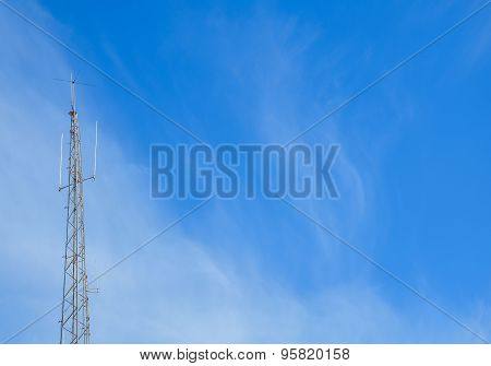 Relay Antenna Mobile Phone Television Internet Communication