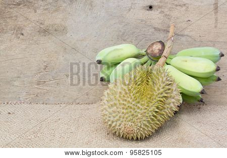 Durian And Banana