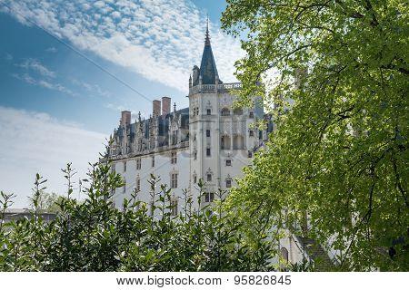 Breton castle, Nantes, France,