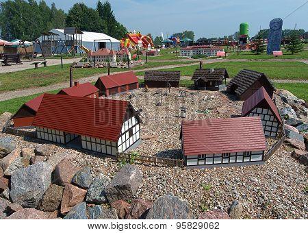 Mazury village.
