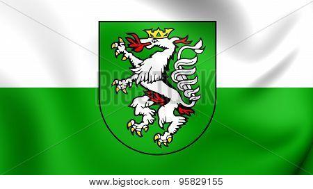 Flag Of Graz, Austria.