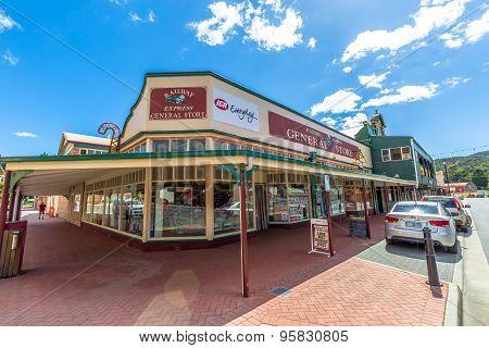 Queenstown Tasmania Store