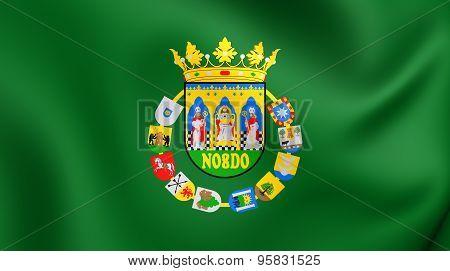 Flag Of Seville Province, Spain.