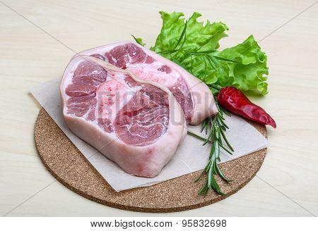 Pork Knee Steack