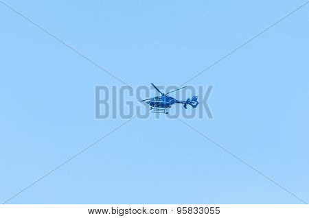 Bundespolizei German Police Helicopter