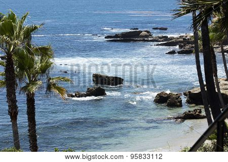 Coastal Scene At Laguna Beach California