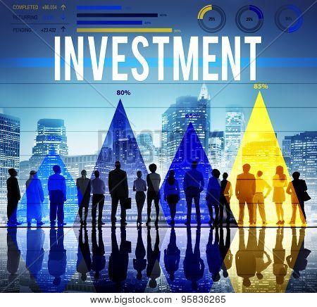 Invest Investment Fund Revenue Income Concept