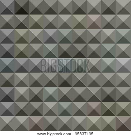 Argent Grey Abstract Low Polygon Background