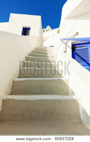 White Stairs, Santorini