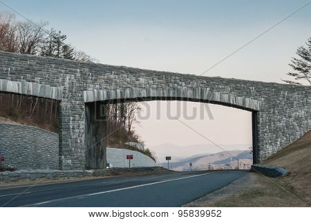 Blue Ridge Parkway Overpass