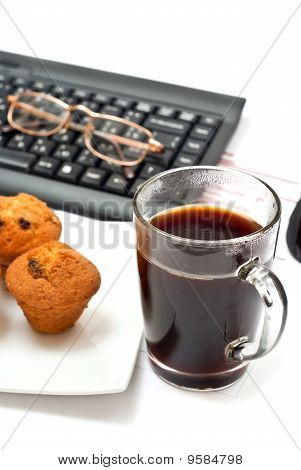 Hot Coffee On Office