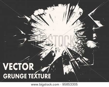Grunge abstract design