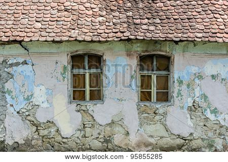 Old House Windows.