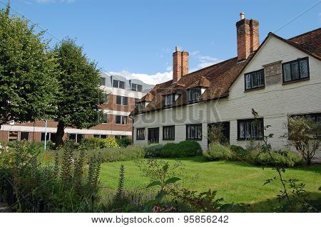 Historic Almshouses, Basingstoke, Hampshire