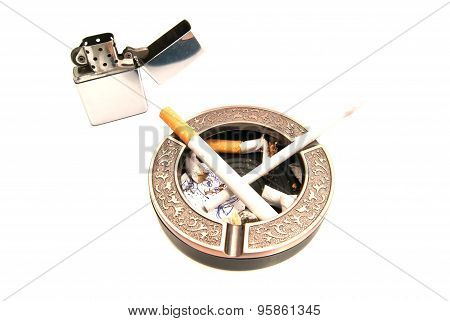 Hazards Of Smoking For Procreation On White