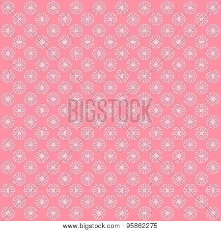 Floral Pattern. Background With Flowers.