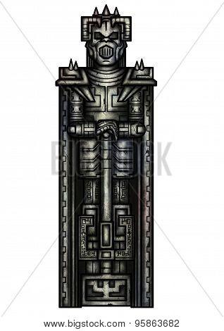 Fantasy Warrior Statue