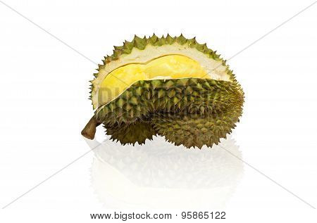 durian isolated,white background