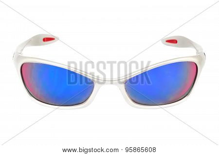 Sporty sunglasses.