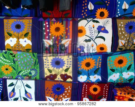Colored Mexican Tapestry