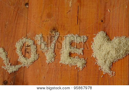 Rice, love, heart, reis, arroz, riso, riz, ???, liebe, amor, amore, amour, ???????