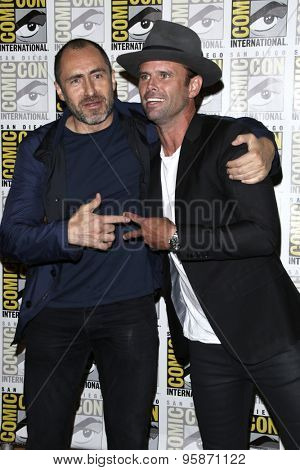 SAN DIEGO - JUL 11:  Demian Bichir, Walton Goggins at the