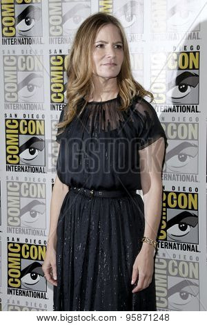 SAN DIEGO - JUL 11:  Jennifer Jason Leigh at the