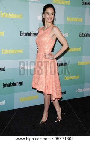 SAN DIEGO - JUL 11:  Sarah Wayne Callies at the Entertainment Weekly's Annual Comic-Con Party at the Hard Rock Hotel on July 11, 2015 in San Diego, CA