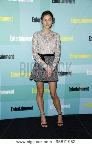 SAN DIEGO - JUL 11:  Phoebe Tonkin at the Entertainment Weekly's Annual Comic-Con Party at the Hard Rock Hotel on July 11, 2015 in San Diego, CA
