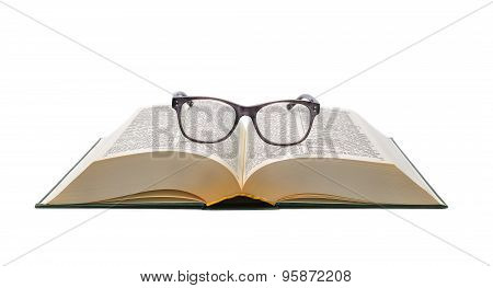 Open Dictionary and glasses