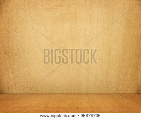 interior of wood background