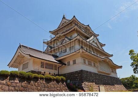Chiba Castle Folk museum In Chiba, Japan