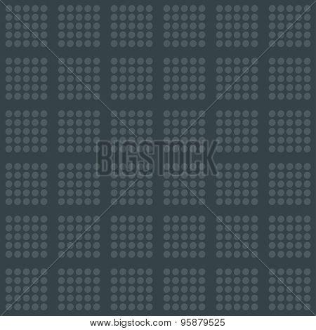 Dark gray wallpaper. 3d seamless background. Vector EPS10.
