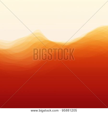 Abstract Background With Curves Lines. Vector Silhouettes Backgrounds. Can Be Used For Banner, Flyer, Book Cover, Poster, Web Banners.