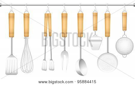 Kitchen Tool Hanger Cutlery