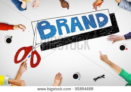 Brand Marketing Copyright Advertising Commercial Concept