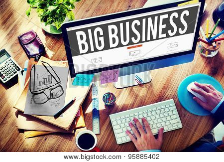 Big Business Competition Capitalism Corporate Concept